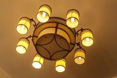 Ceiling lamps. Stock Images