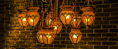 Ceiling lamps Royalty Free Stock Images