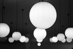Ceiling Lamps Stock Photo