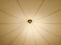 Ceiling light. Detail of abstract ceiling light design Royalty Free Stock Image