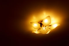 Ceiling light beautiful shape Stock Photo