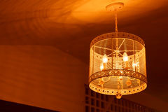 Ceiling light beautiful shape Royalty Free Stock Photo