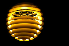 Ceiling light design Royalty Free Stock Photography