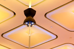 Ceiling light design Royalty Free Stock Photos