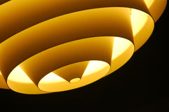Ceiling Light Fitting. Ceiling light fixture close-up stock photo