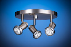 Ceiling light fixture Royalty Free Stock Image