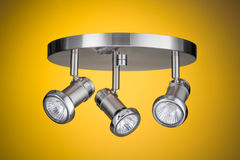 Ceiling light fixture Royalty Free Stock Photos