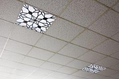Ceiling Light Stock Photo