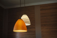 Ceiling light lamp decor Royalty Free Stock Photo