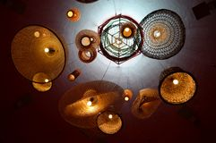 Ceiling Light Lamps Stock Image