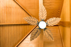 Ceiling light. Top view of Ceiling light decoration in house stock images