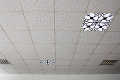 Ceiling lighting Royalty Free Stock Photos