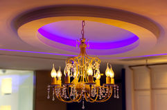 Ceiling Lights chandelier Royalty Free Stock Images