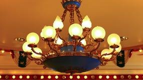 Ceiling Lights chandelier stock images