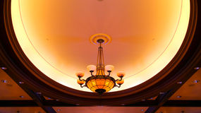 Ceiling Lights chandelier Stock Photo
