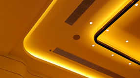 Ceiling lights graphic design stock photography