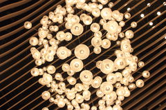 Ceiling lights Royalty Free Stock Image