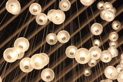 Ceiling lights Royalty Free Stock Photos