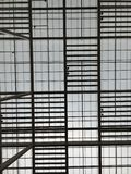 Ceiling lines Royalty Free Stock Photography