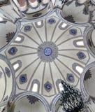 Ceiling at Little Hagia Sophia (Istanbul) Stock Image