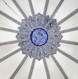 Ceiling at Little Hagia Sophia (Istanbul) Royalty Free Stock Photo