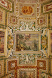 Ceiling in Map room Stock Photography