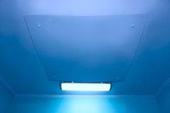 Ceiling in medical facilities Royalty Free Stock Photography