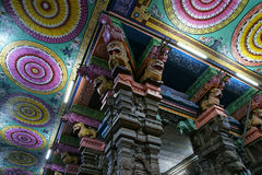 Ceiling Meenakshi Sundareswarar Temple in Madurai Royalty Free Stock Photo