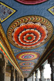 Ceiling Meenakshi Sundareswarar Temple in Madurai, South India Royalty Free Stock Photo