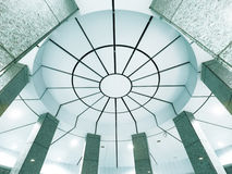 Ceiling of modern building Royalty Free Stock Photos