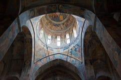 Ceiling of a monastery Stock Photos