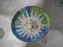 ceiling-mosaic Stock Photos