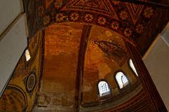 Hagia Sophia ceiling mosaics Stock Photo