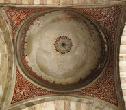 Ceiling of the mosque courtyard Stock Photos
