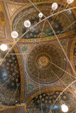 Ceiling in the Mosque of Muhammad Ali Stock Photo