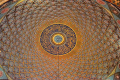 Ceiling in the mosque Royalty Free Stock Images
