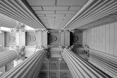 Ceiling of the National Archives Stock Photography