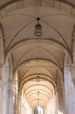 Ceiling Of Arch Corridor Stock Photos
