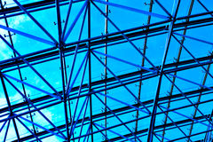 Ceiling in office Stock Image
