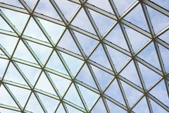 Ceiling in office building royalty free stock image
