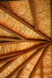 Ceiling. Of old building in Kakopetria village, Cyprus Stock Photo