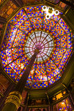 Ceiling of the Old Louisiana State Capitol. Stock Photo