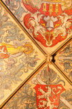 Ceiling in Old Town Hall Royalty Free Stock Photo