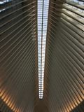 Ceiling of the One World Trade Center in Manhattan. Photo of a ceiling of the One World Trade Center in Manhattan, NYC, NY, USA Royalty Free Stock Photography