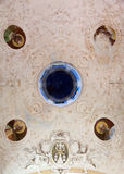 Ceiling in the Oratory of the Dead in the Monterosso al Mare, Italy Royalty Free Stock Images