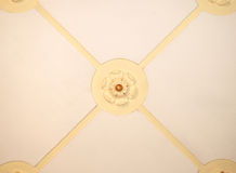Ceiling ornament Stock Image