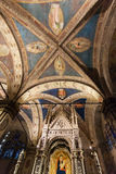 Ceiling of Orsanmichele church in Florence Royalty Free Stock Photos