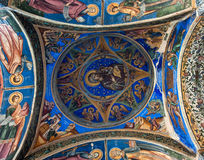 Ceiling of a Orthodox Church Royalty Free Stock Images