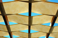Ceiling of outdoor bar royalty free stock photos