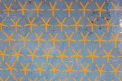 Ceiling with painted stars in the Temple of Hatshepsut